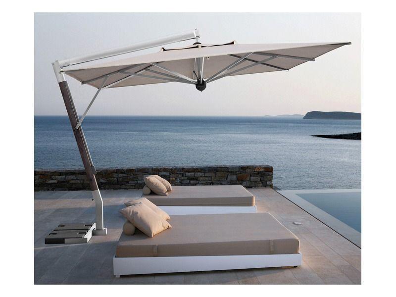 Asiatische Sonnenschirme , Einfach Verschließbarer Sonnenschirm Restaurant Terrasse Giotto Arm