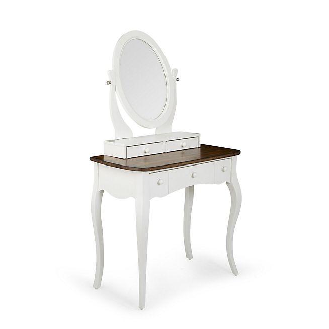 Evelyn coiffeuse romantique blanche 1 tiroir avec images Coiffeuse meuble alinea