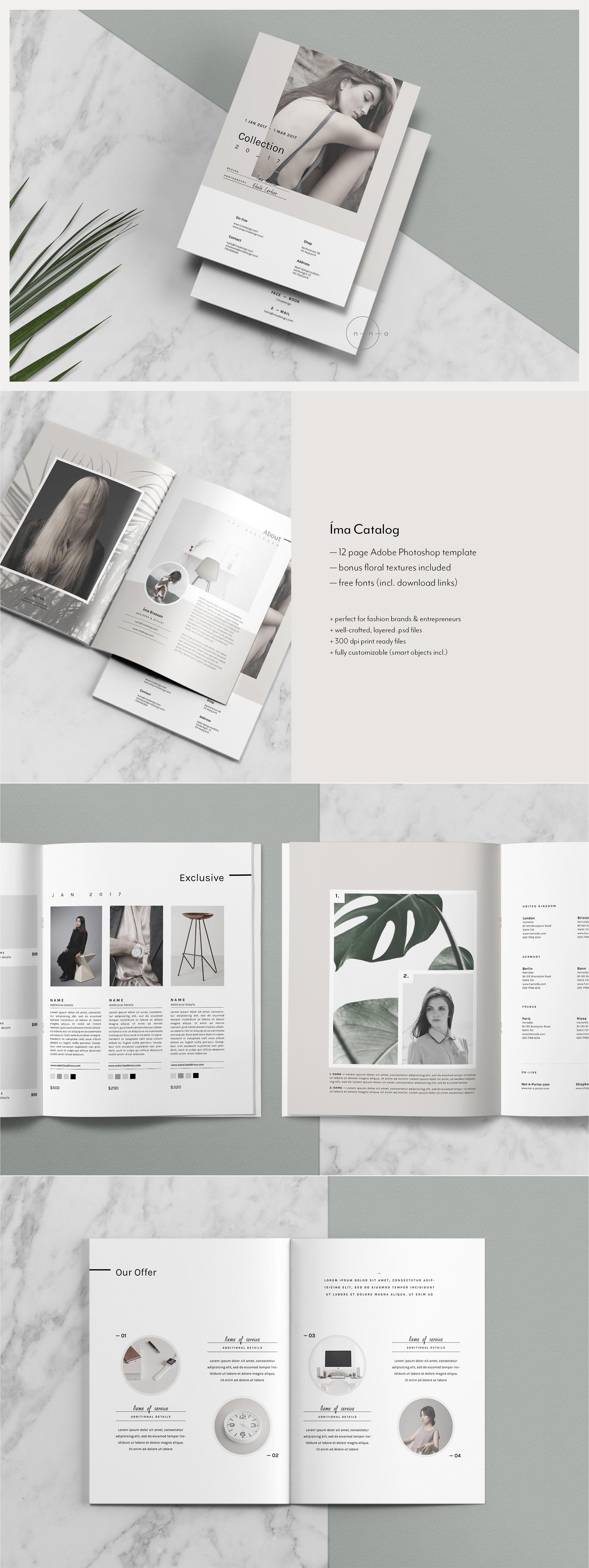Catalog Magazine PSD ma by Nonola on creativemarket
