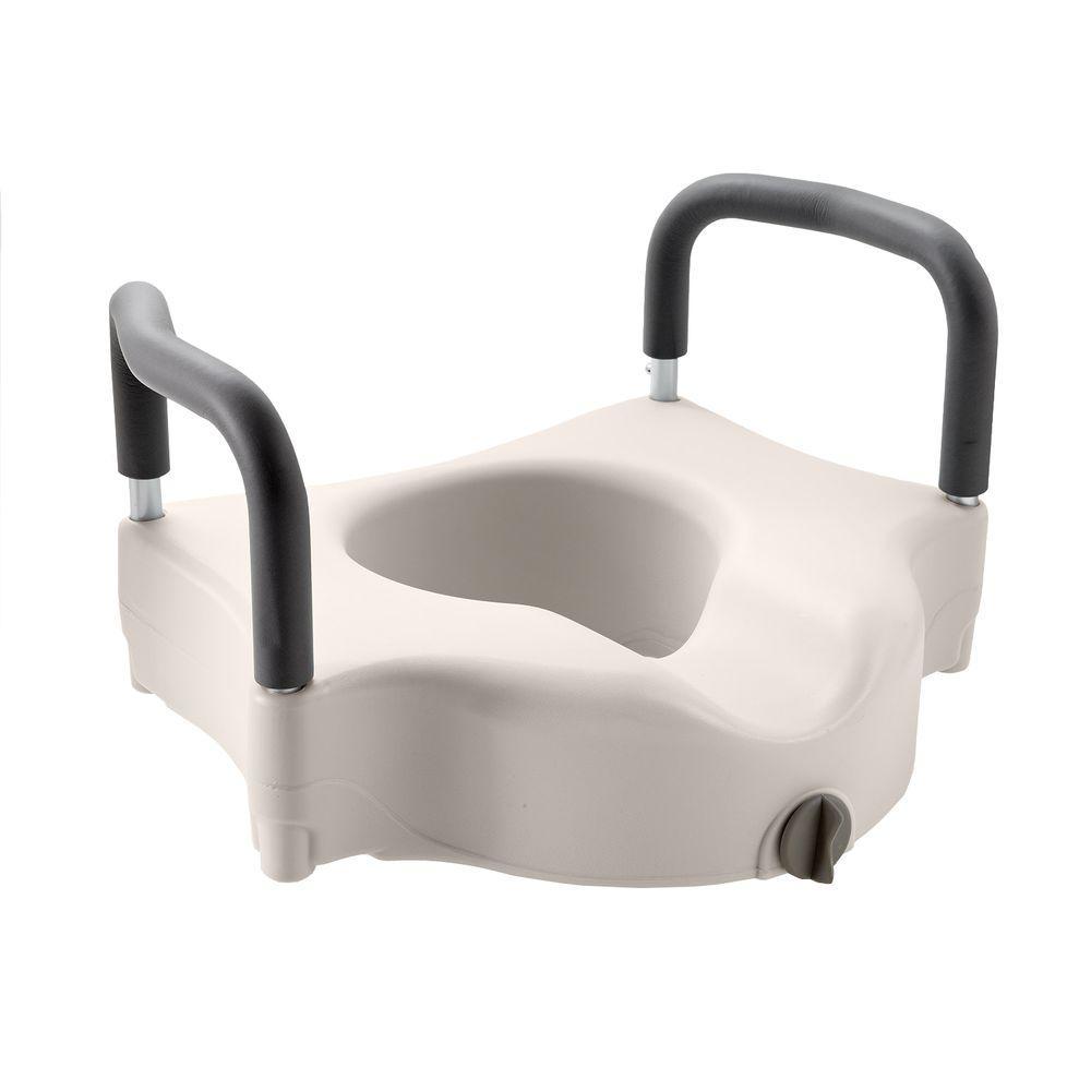 Medline Adjustable Elevated Toilet Seat White Toilet Seat Elongated Toilet Seat Seating
