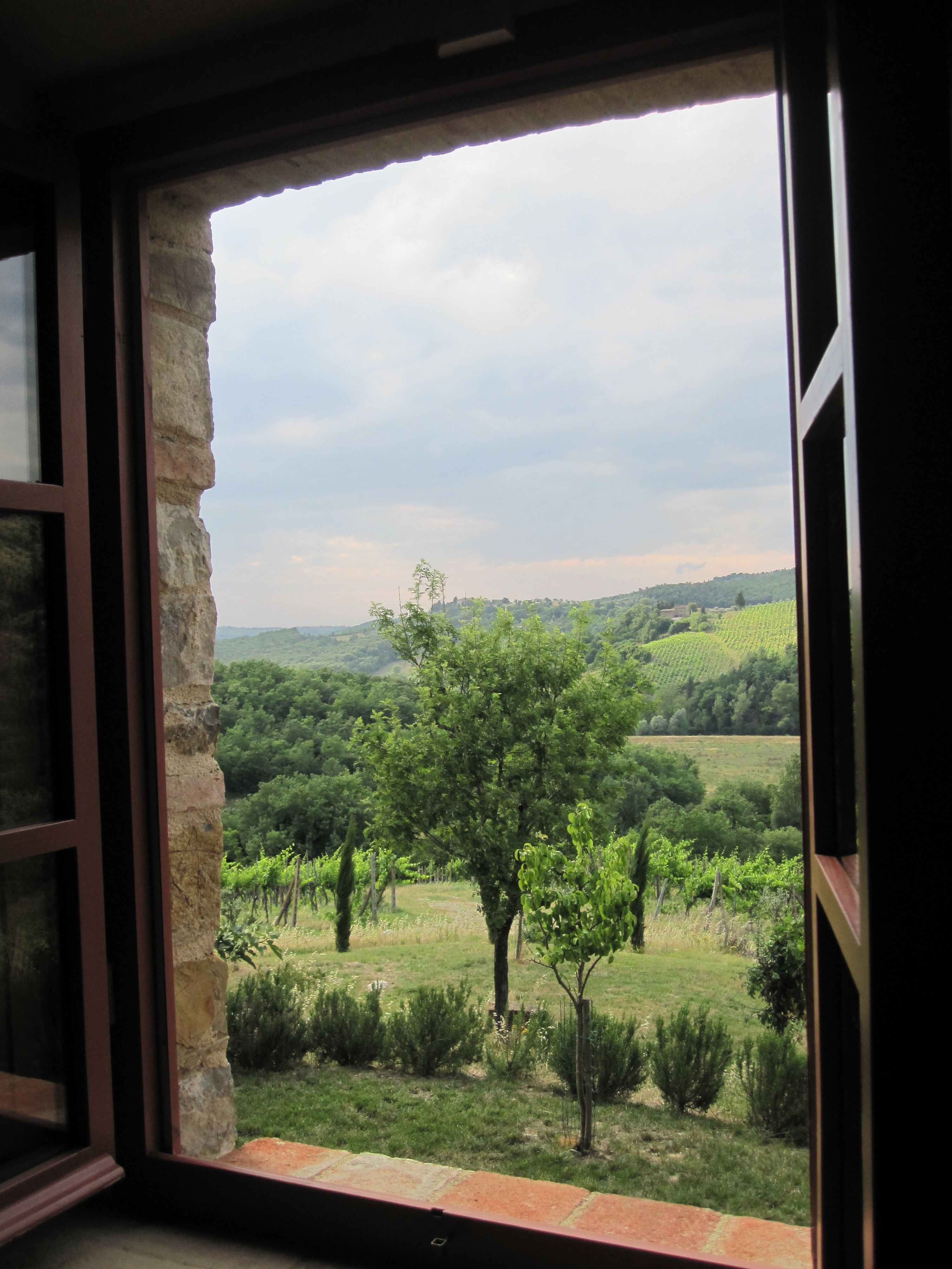 View From Room In Tuscany It Doesn T Get Much Better Than That
