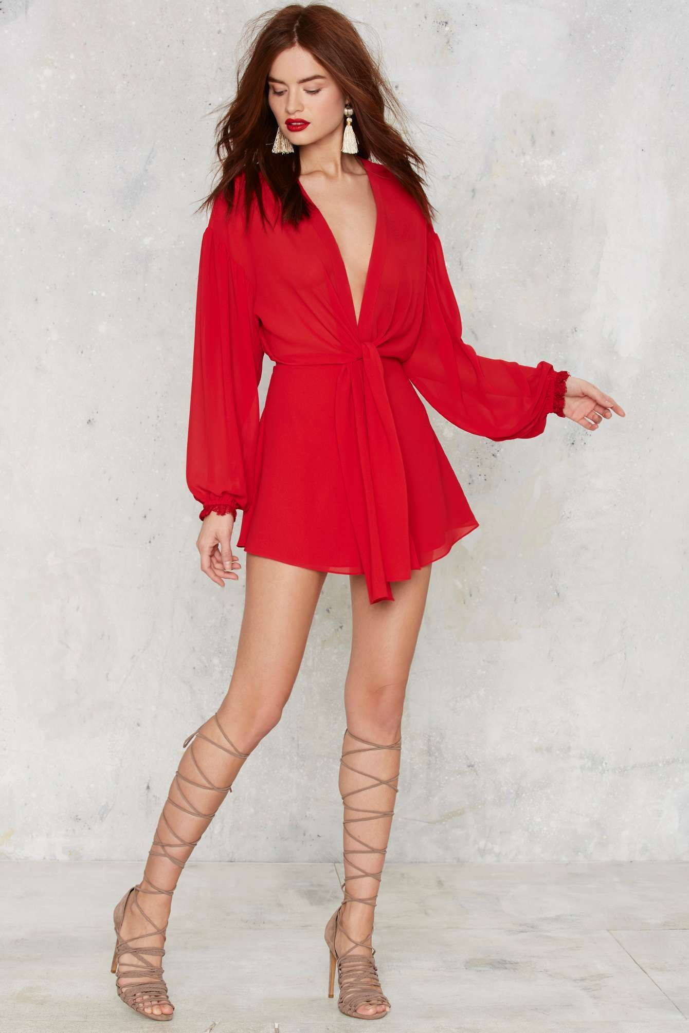 50add706531 Nasty Gal Light As Air Romper