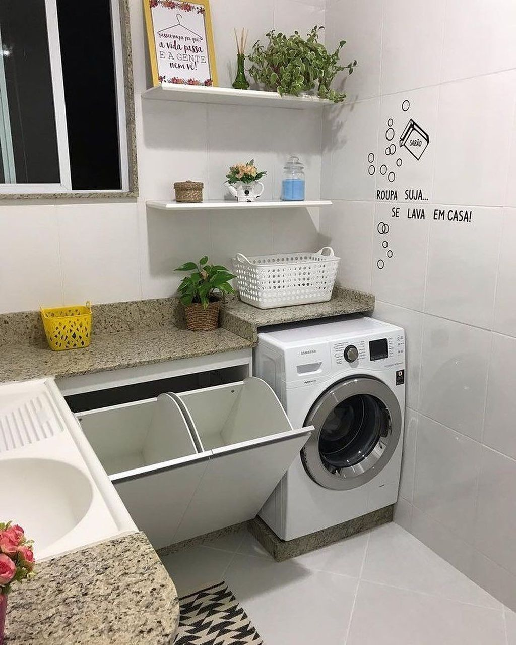 30 Charming Small Laundry Room Design Ideas For You Stylish Laundry Room Laundry Room Design Laundry In Bathroom