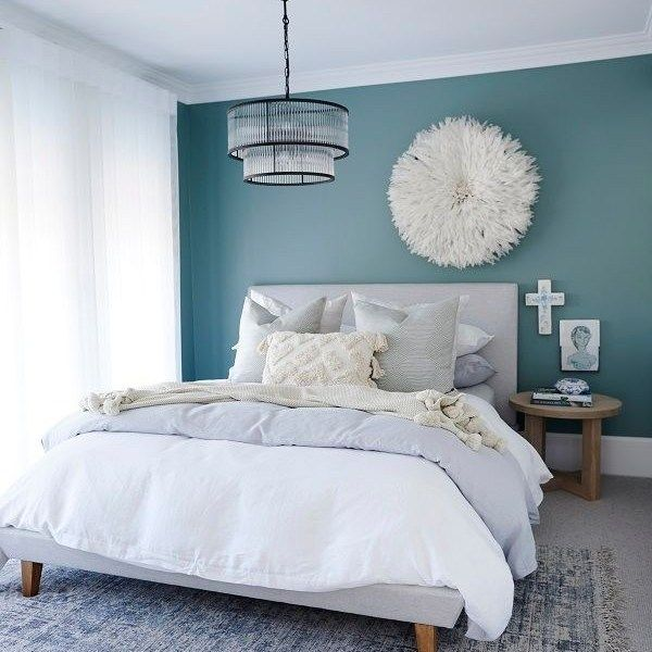 46+ Introducing The Most Calming Bedroom Colour Schemes to ...