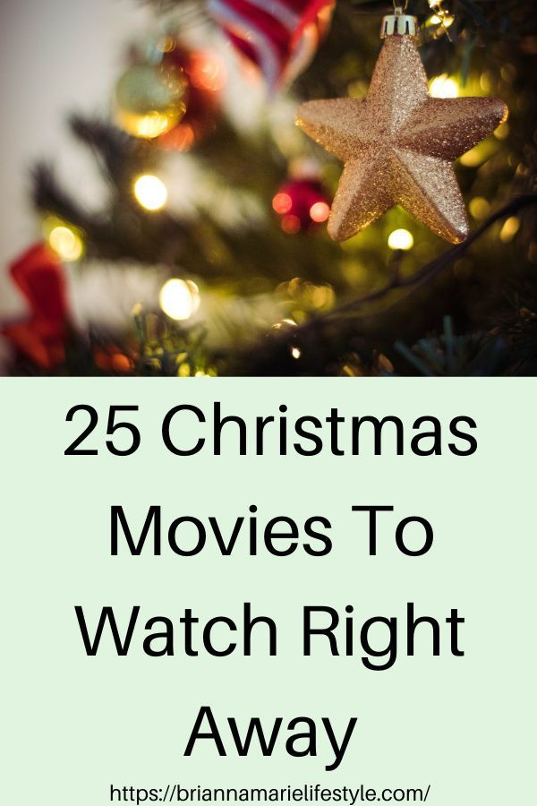 Looking for Christmas movies to watch? Create your own Christmas movie countdown with the 25 Best Christmas Movies list full of classic Christmas movies and Christmas favorites that both kids and adults will love! #christmasmovies #christmas #marathon