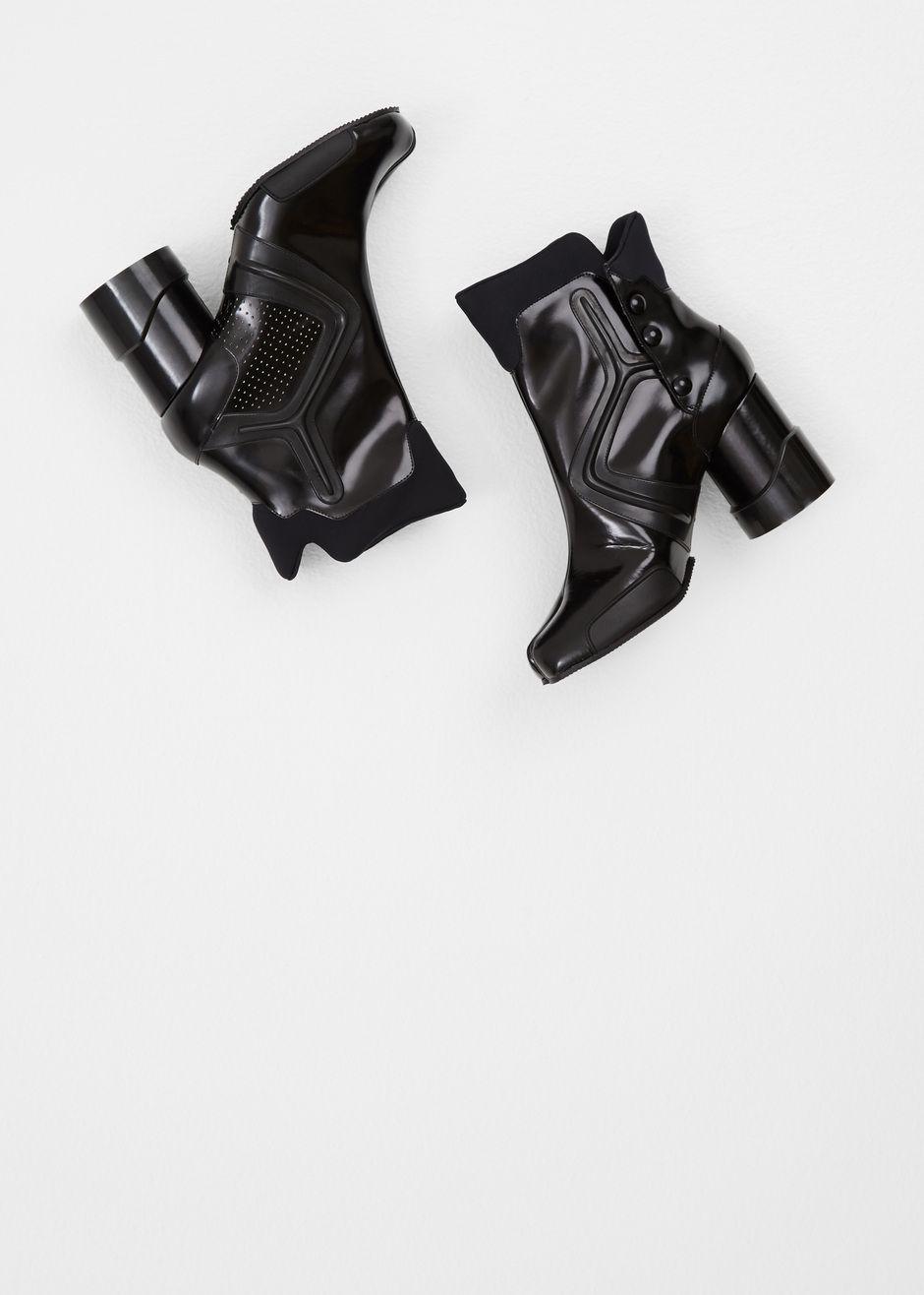 fbf0fb896c9 Maison Martin Margiela Perforated Techno Tabi Boot (Black ...