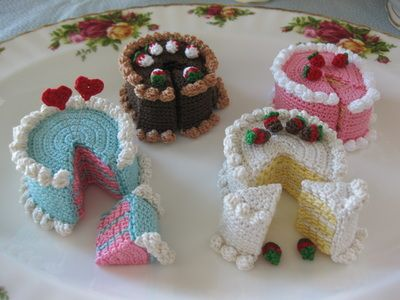 Free Patterns Crochet Cakecrochet