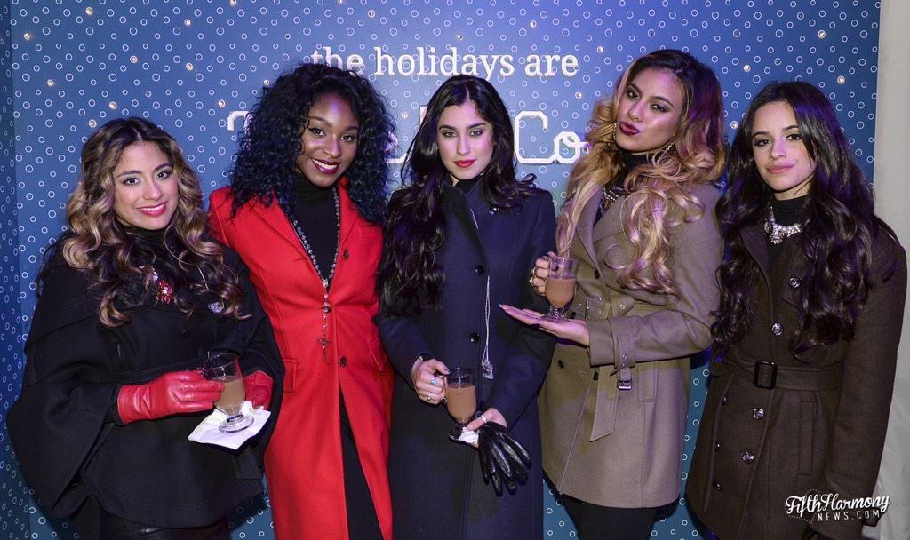 Fifth Harmony at the National Christmas Tree Lighting