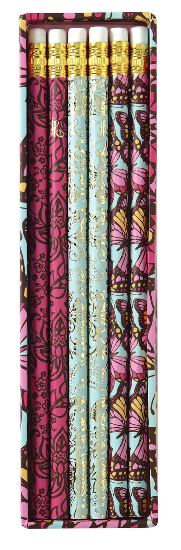 Flutterby Pencil Set