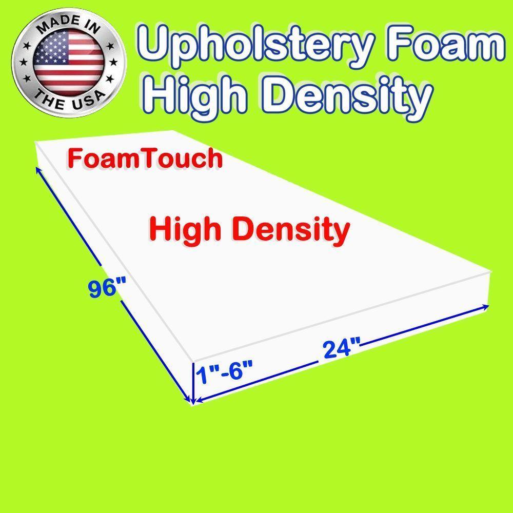 Foam Sheets 8434 High Density Foamtouch Upholstery Foam Size 1