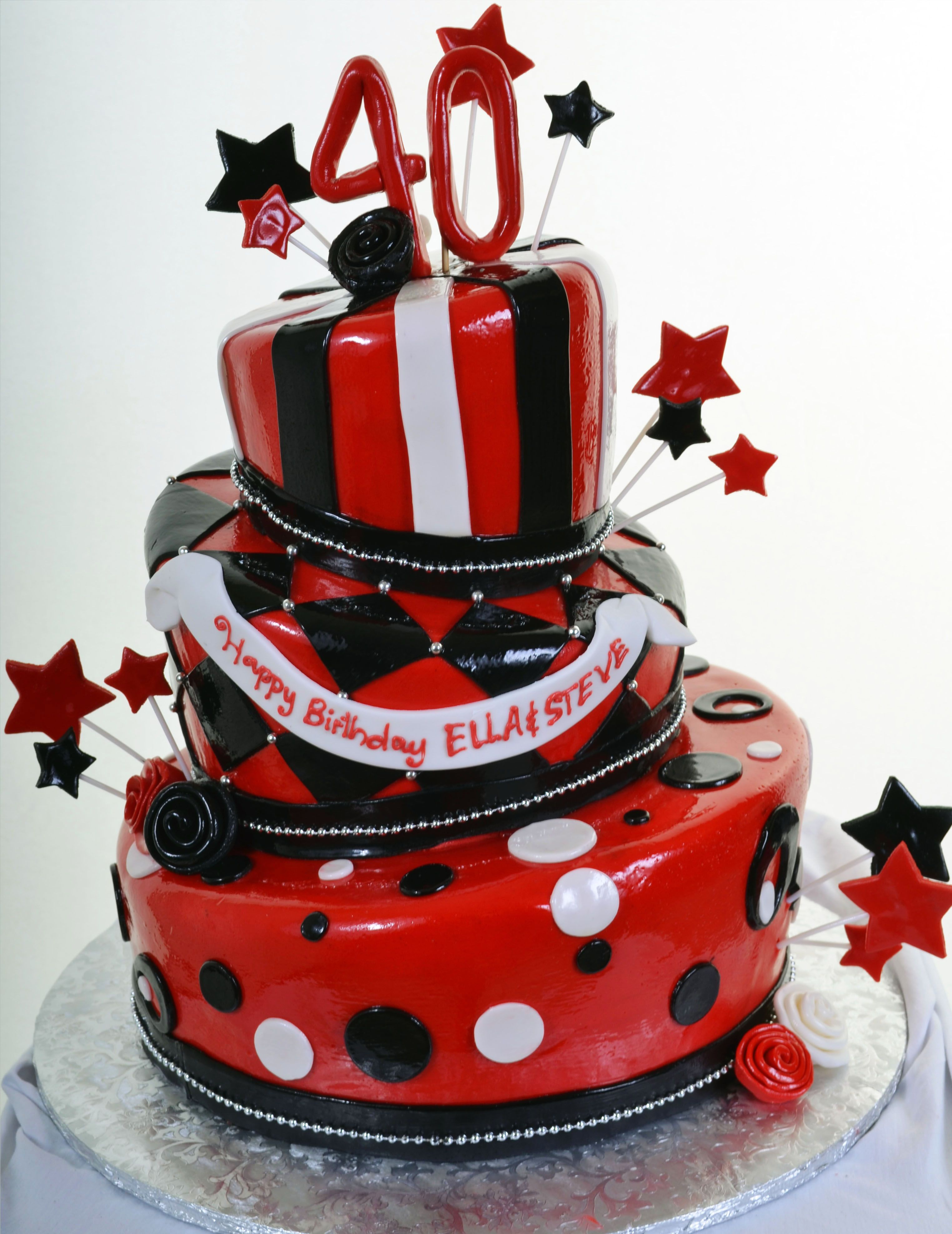677 bursting birthday with images red birthday cakes