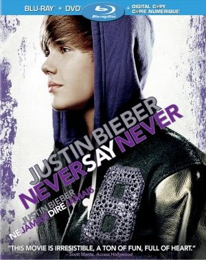 justin's movie never say never