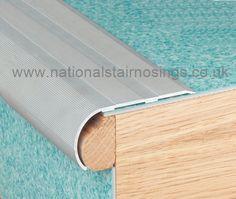 Incroyable Aluminium Bullnose Stair Nosing Rounded Step Edge Nosings Ramp Profile    National Stair Nosings U0026 Floor