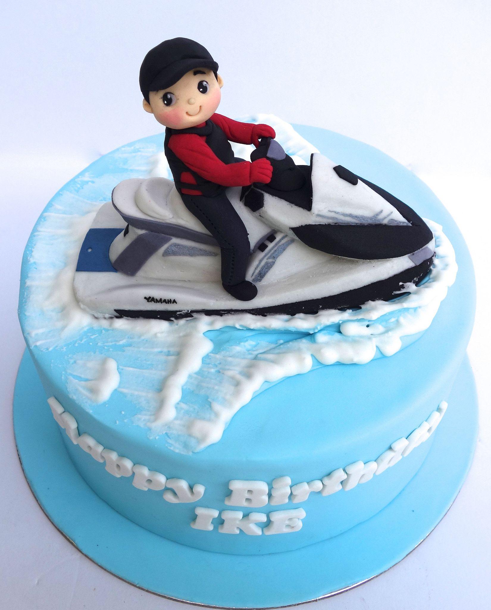 Jetski Cake Cake 18th Birthday Cake Kids Cake