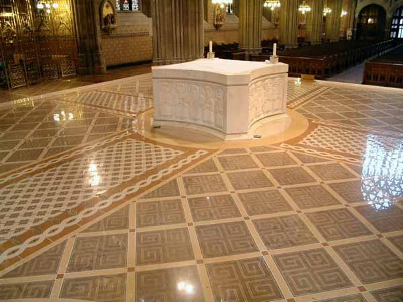Intricate Pattern Of Tile Of Church Floor Church Pinterest House