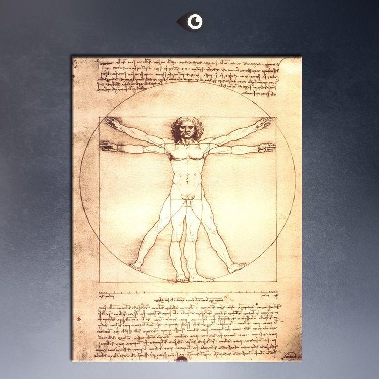 Wall Art Ideas Design : Online Paper Leonardo Da Vinci Wall Art ...