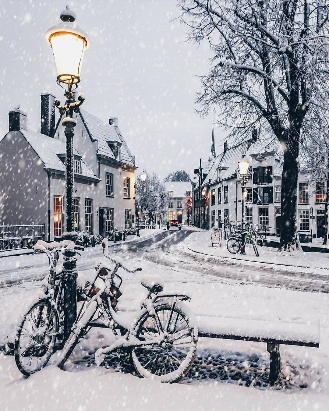 "Photo of Europe on Instagram: ""#amersfoort @ a_wasbeer winter vibes! ❄️ """
