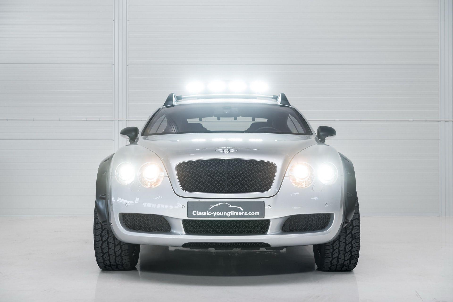 Adi³s Bentley Bentayga este Bentley Continental GT transformado en