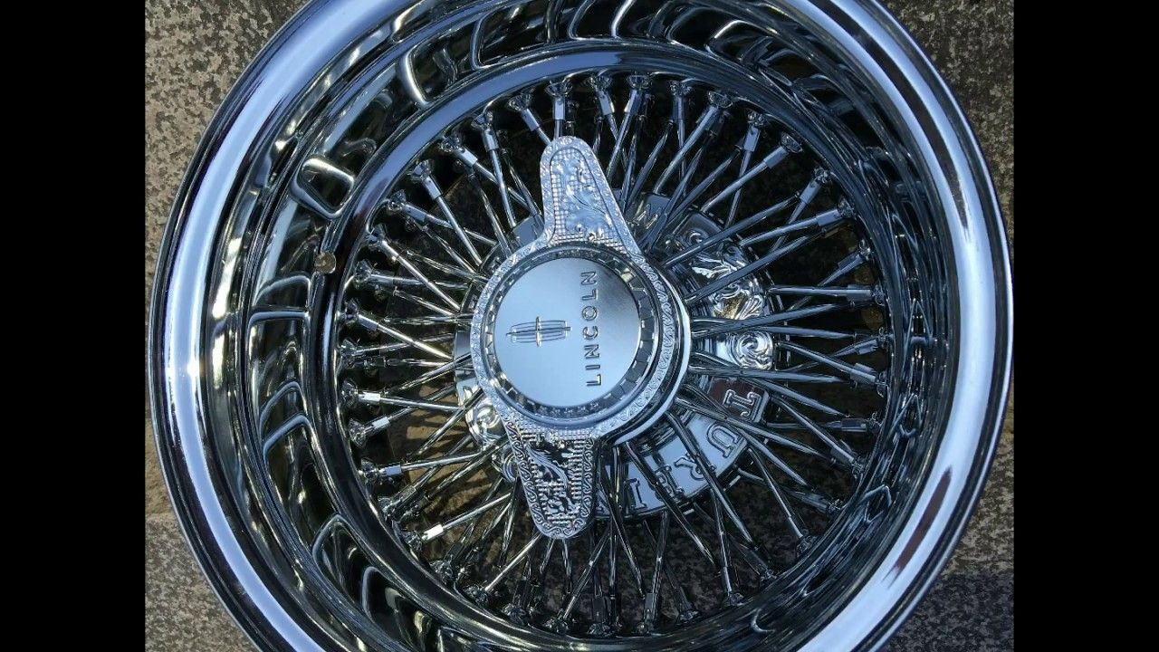 All Chrome 13s 14s Turbine #Wire Wheel #72 Spokes #Cross Lace ...