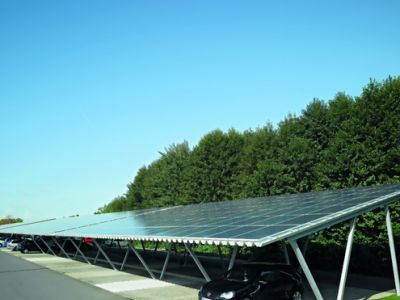 Solar Carport - Stroh-Fabrik Solar in Ribnitz-Damgarten