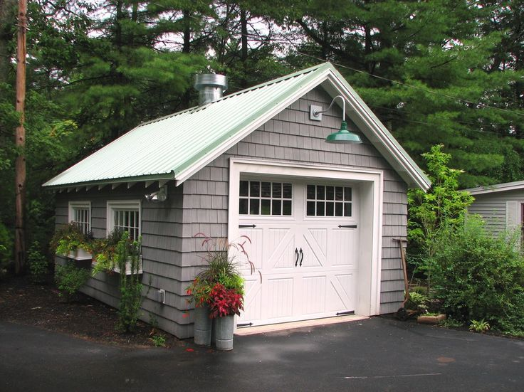 Window Boxes On Traditional Garage And Shed By Garden Tech Horticultural  Services LLC
