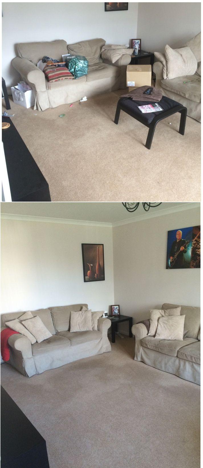 Living Room Declutter Before After Declutter Living Room Living Room Colors Declutter Bedroom