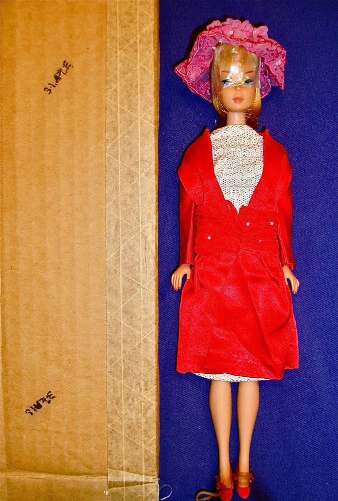 "Vintage Barbie ULTRA-RARE SAMPLE Blonde LH American Girl in ""Shimmering Magic"" #Barbie"