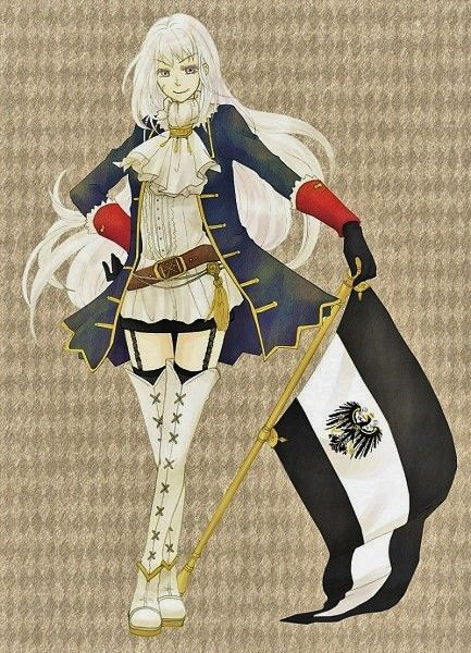 Nyo!Prussia~  If you can't tell I think she's awesome. :D