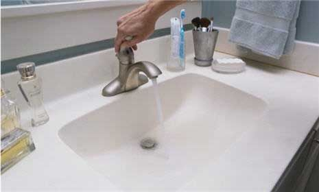 Watch How to Clean a Bathroom Countertop  Sink in the Video For