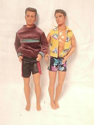 From The Show 90210 1991 Boy Barbie Dolls 90210 Brandon Dylan
