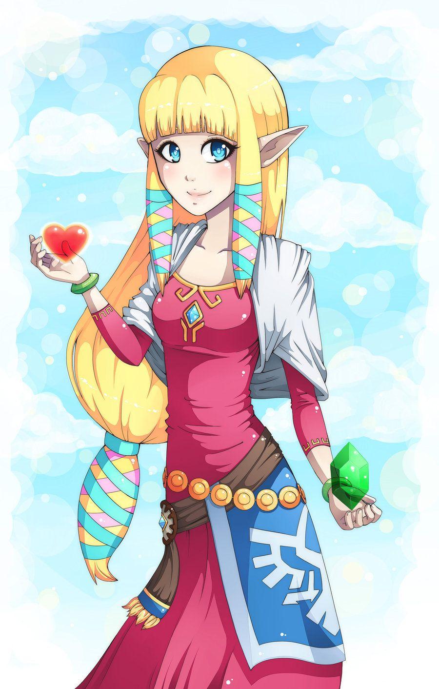 Princess Zelda By Majigoma D56p7jv Jpg 900a 1412 Princess Zelda