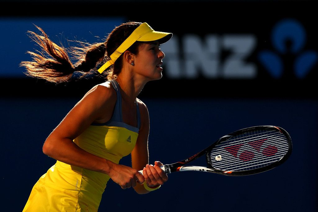 Ana Ivanovic In-Game Rituals - Outside The Match