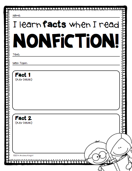 A Lesson from Writing Nonfiction