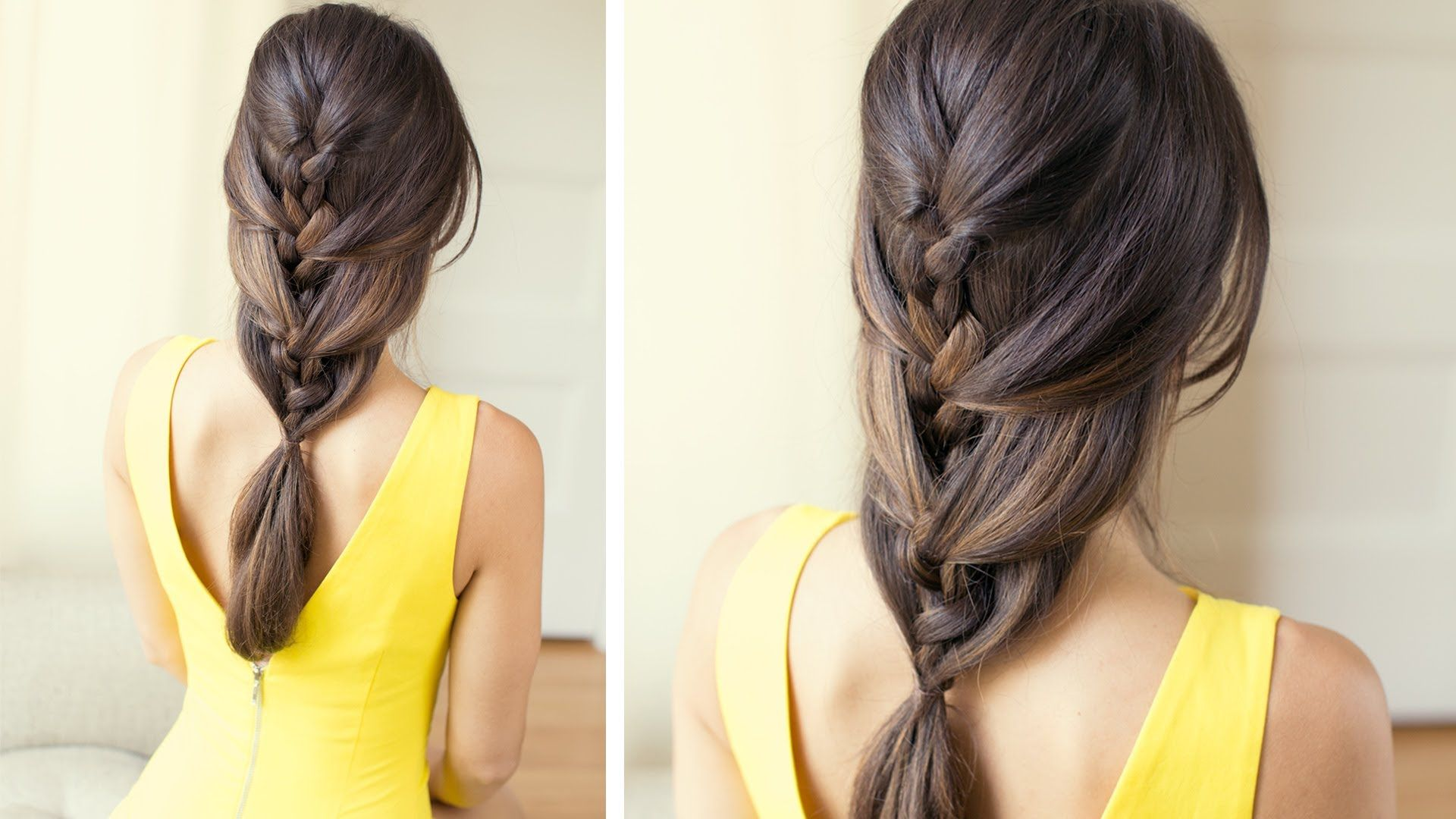 Relaxed French Braid is an ideal everyday hairstyle It s a cute