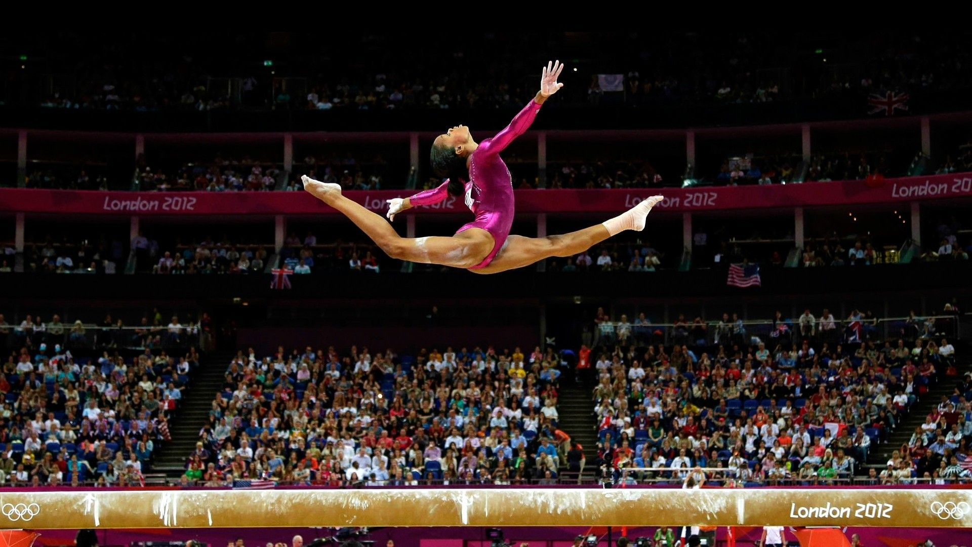 Balance beam gymnastics olympics 2012 gabrielle douglas ... Balance Beam Gymnastics Olympics