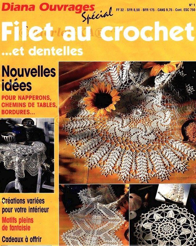 Французский журнаРпо вязанию Diana Ouvrages DO 01 Обсуждение на