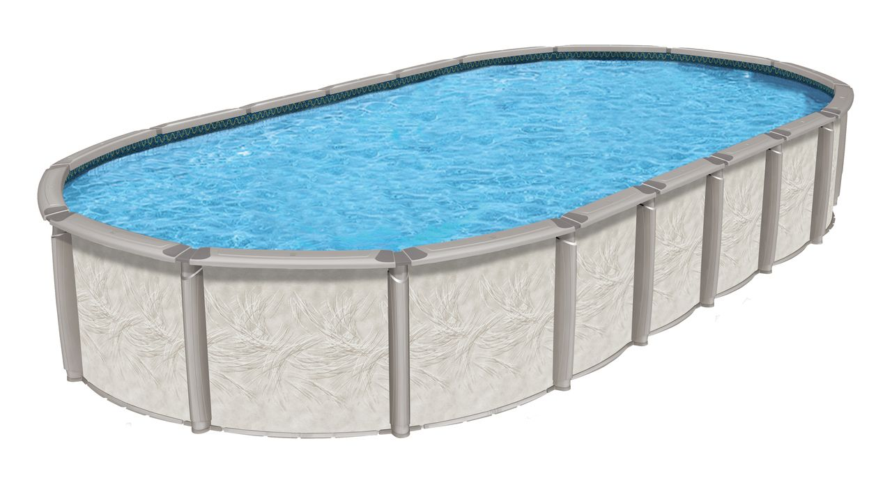 Azor Resin Above Ground Oval 54 Deep Pool Package Above Ground Pool Kits Swimming Pool Installation Swimming Pool Kits