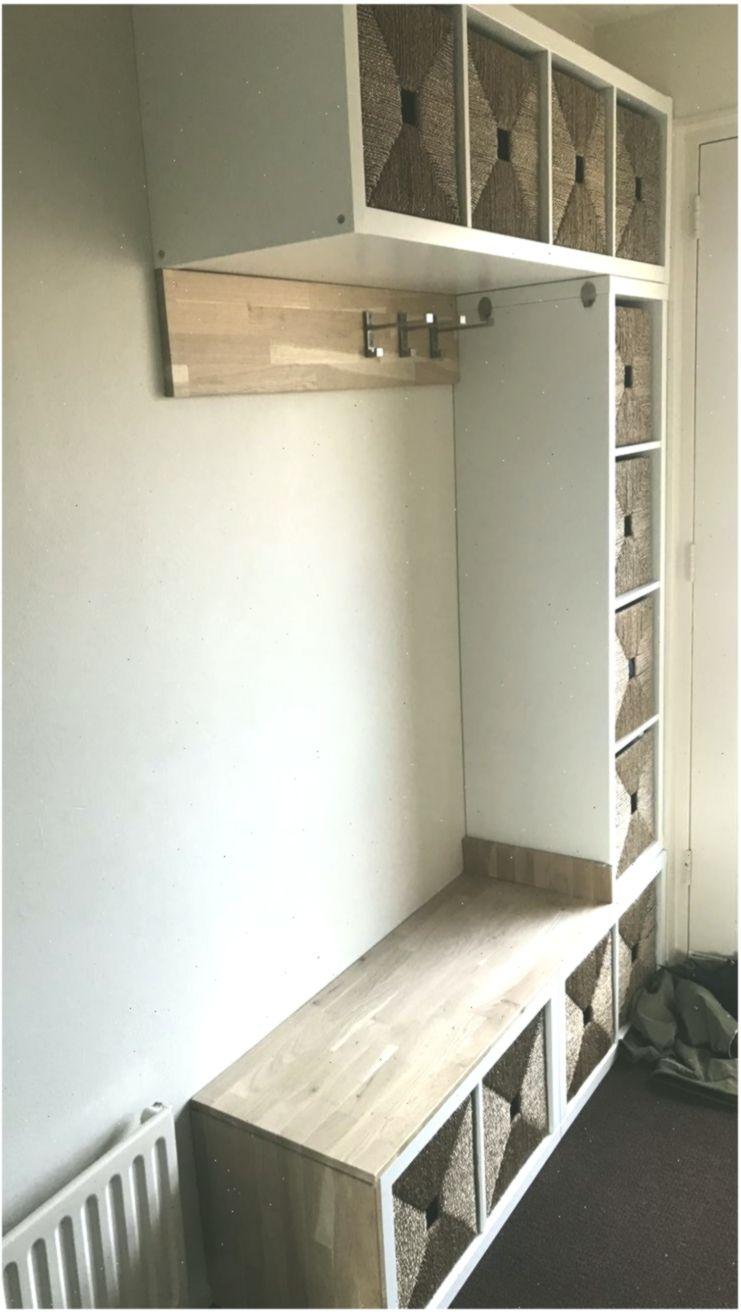 Ikea Kallax Flur Schrank Garderobe Korridor Korb Kallax