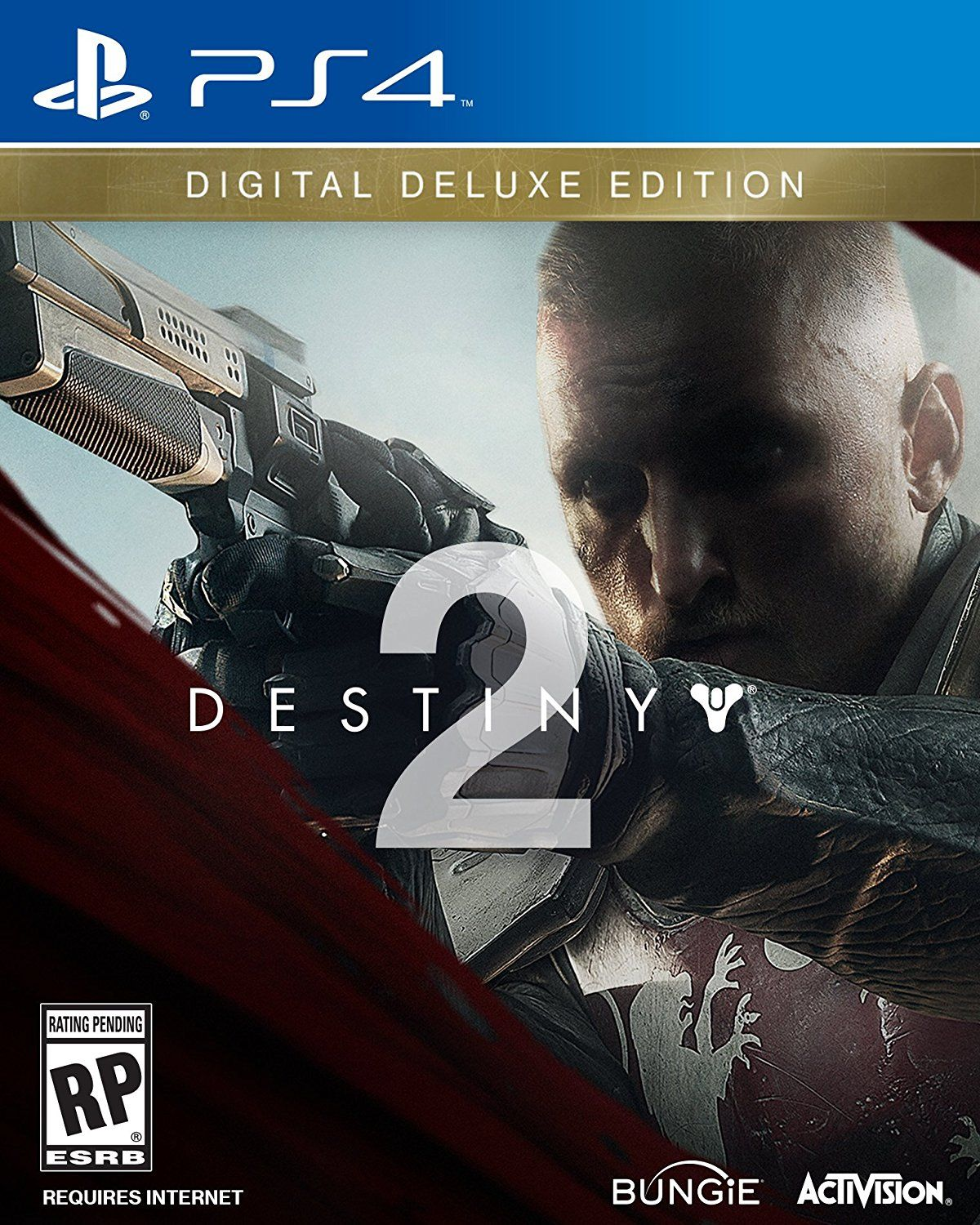 Destiny 2 Game Cover Ps4 Digital Deluxe Edition Video Games Injustice