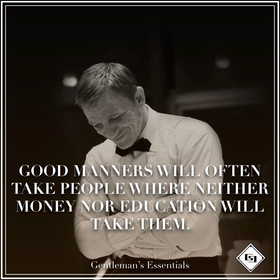 Gentleman Quotes www.gentlemans-essentials.com | Gentleman