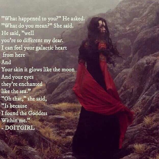 I found the goddess within me words of wisdom pinterest i found the goddess within me sciox Choice Image