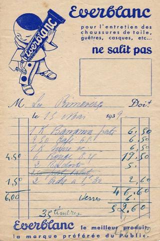 Vintage Invoice Design   Graphic Design