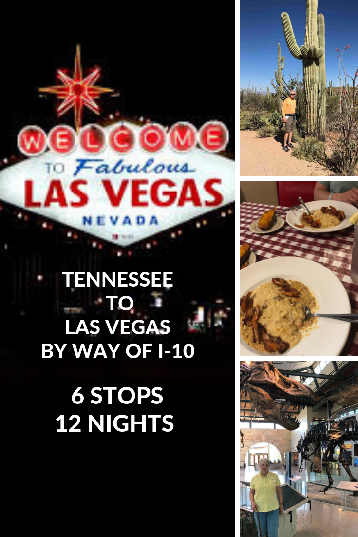 We Take A Southern Route To Vegas Via I 10 Pensacola Cajun Country San Antonio Tucson And More Rv Park Reviews And Attra Rv Travel Intineraries In 2019