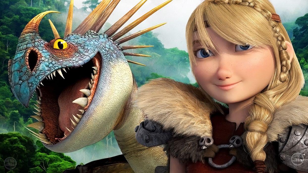 Герои как приручить дракона картинки