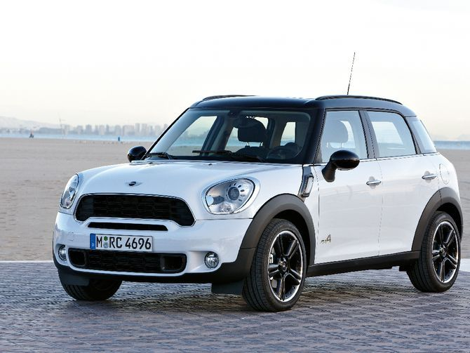 Mini showed various concepts for a small crossover at recent car shows, and now has announced the real deal. The Countryman takes the retro Mini design and adds inches both in size and in clearance.