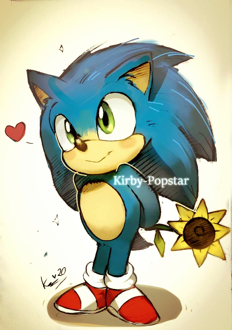 Baby Sonic By Kirby Popstar On Deviantart In 2020 Sonic Hedgehog Art Sonic The Hedgehog