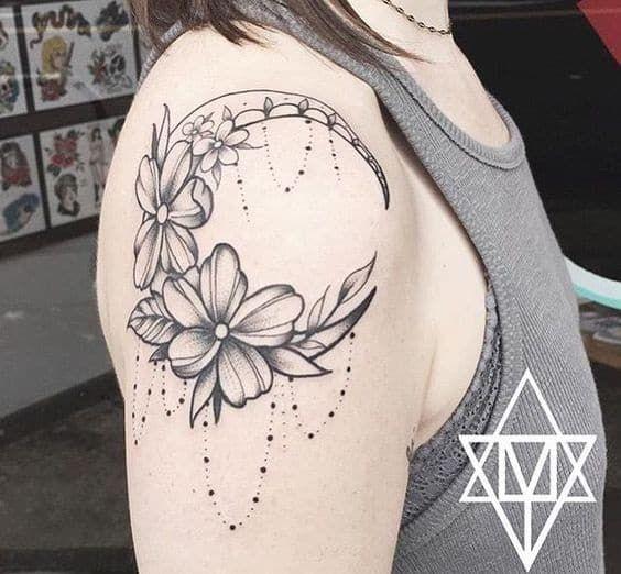 Resultado De Imagen Para Tatuajes De Lunas Para Mujeres Tattoo Art