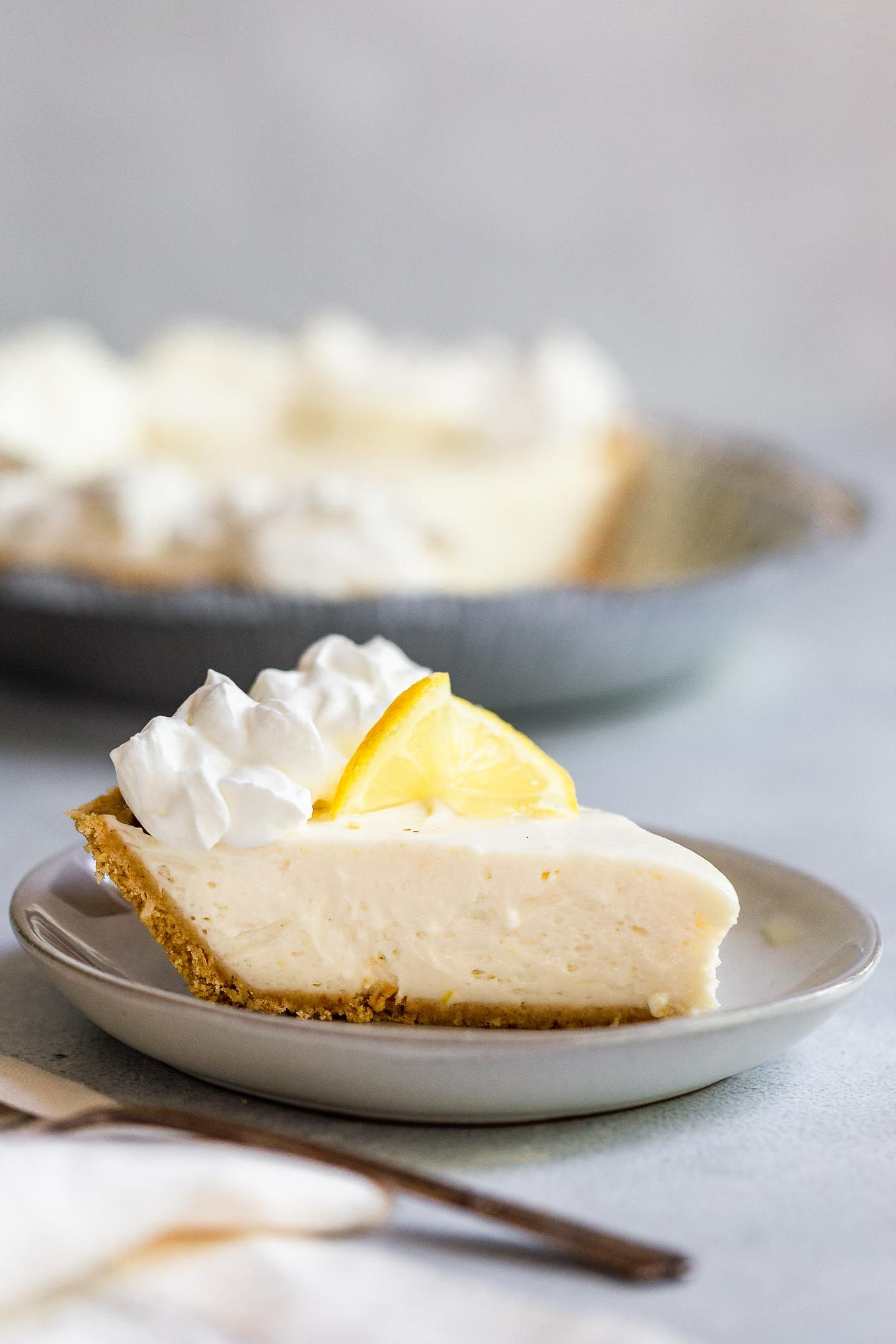 No Bake Lemon Icebox Pie Recipe 3 Ingredients Amy In The Kitchen Recipe Sweetened Condensed Milk Recipes Lemon Icebox Pie Icebox Pie