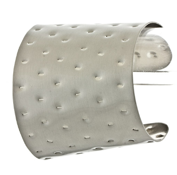 Peces - Dented Metal Cuff, $13.99 (http://www.shoppeces.com/dented-metal-cuff/)