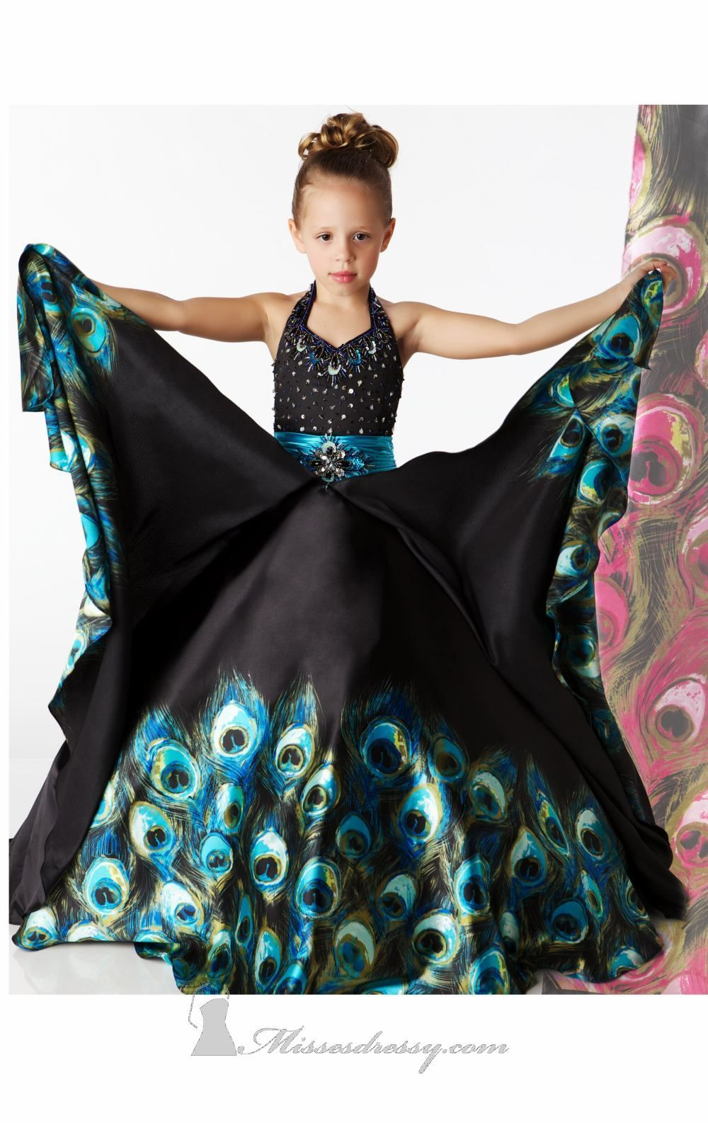 Peacock Dresses for Teens